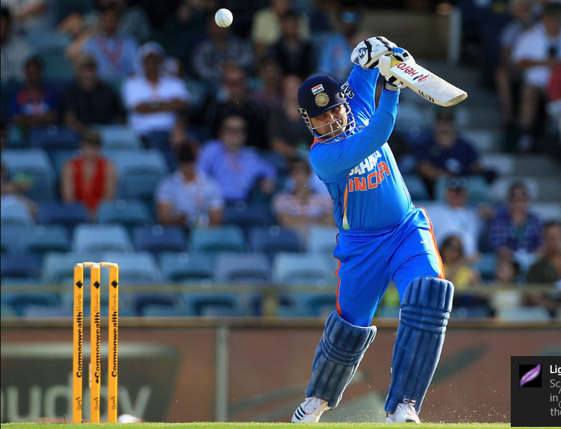 Virender Sehwag batting style