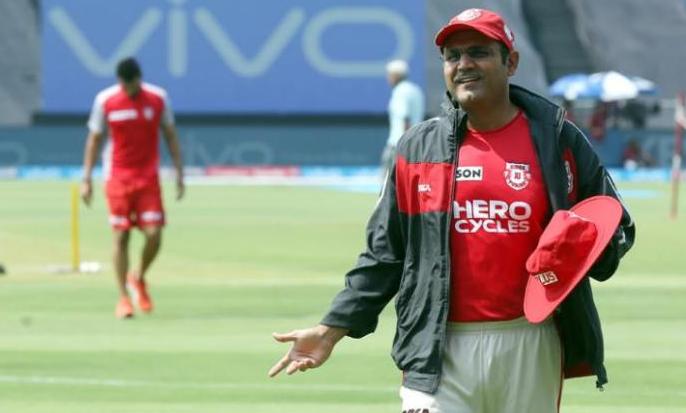 Virender Sehwag signed as the head coach of Kings XI Punjab in IPL