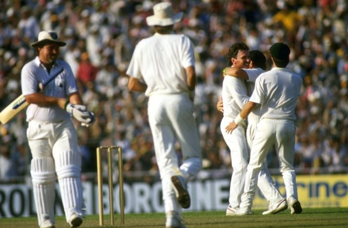 Gatting's reverse sweep in 1987 world cup final