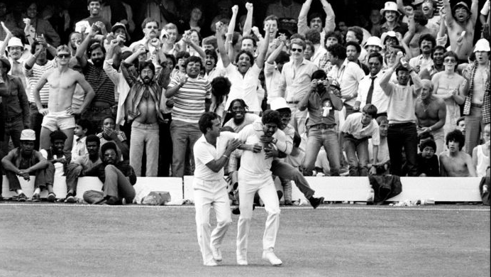 Kapil Dev's catch in 1983 world cup final