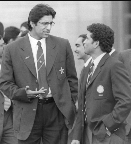 Akram said Pakistani players tried to sledge Tendulkar but realised later that he would not react