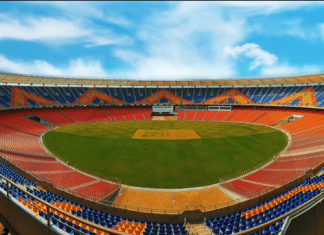 new Sardar Patel Gujarat Stadium known as Motera Stadium
