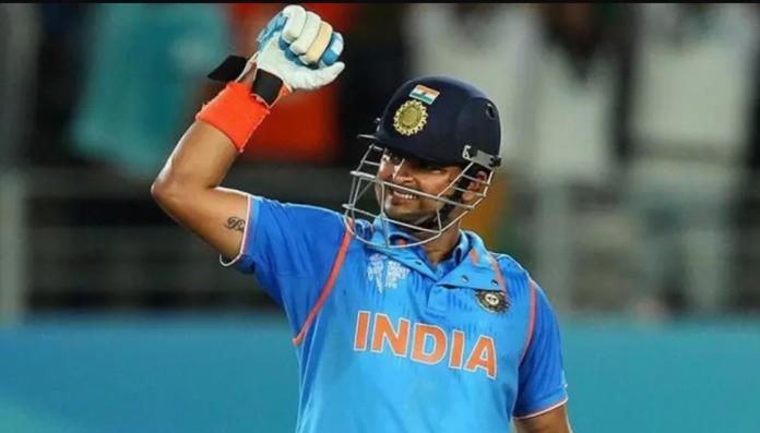 raina completes 15 years in international cricket