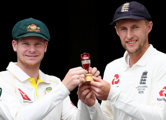 list of Man of Series and winners of The Ashes series since 1882